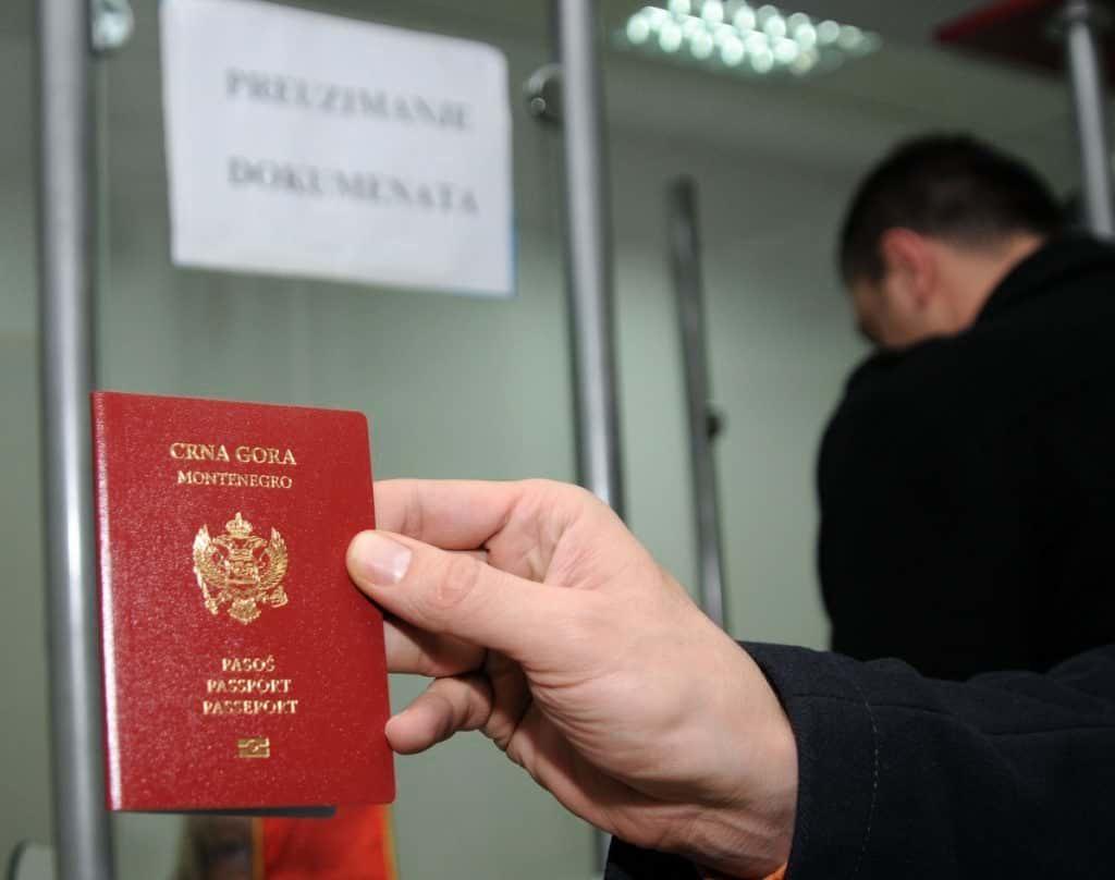 паспорт Черногории отказ
