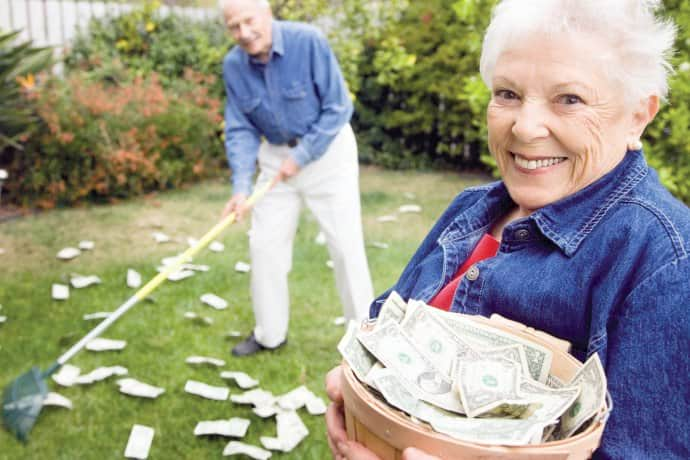 Выплаты пенсионерам