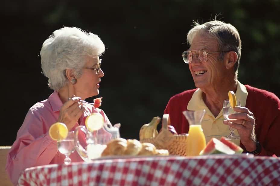 Румынские пенсионеры