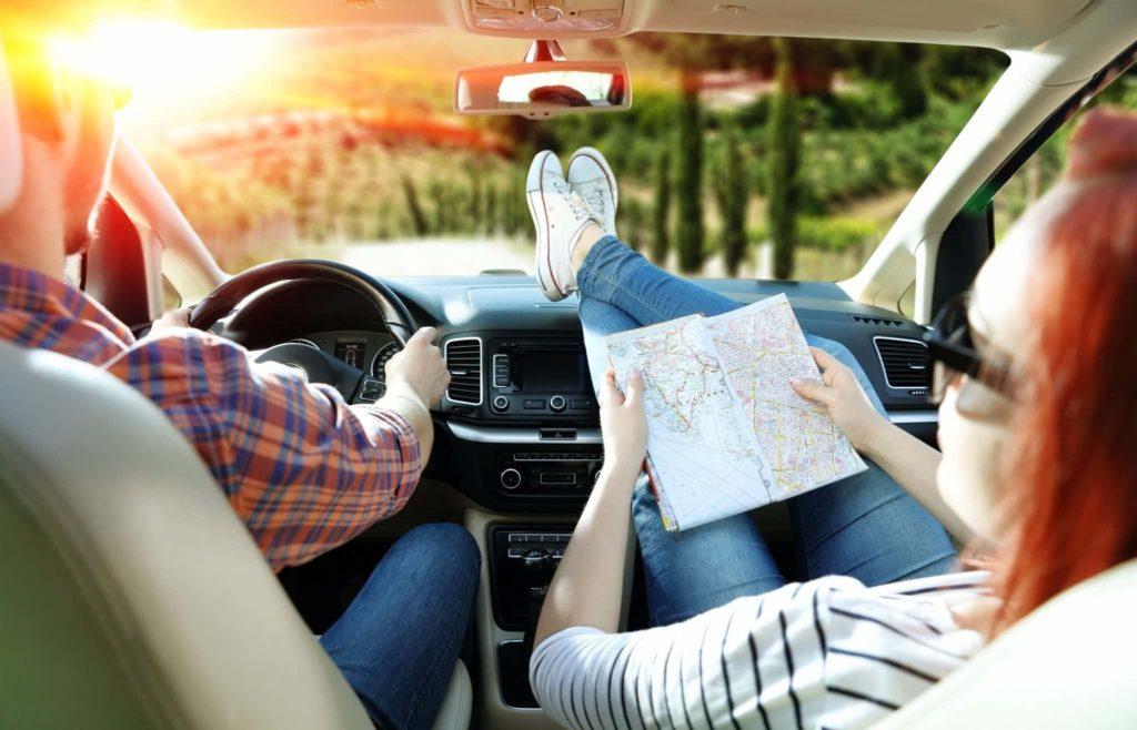 Поездка на машине