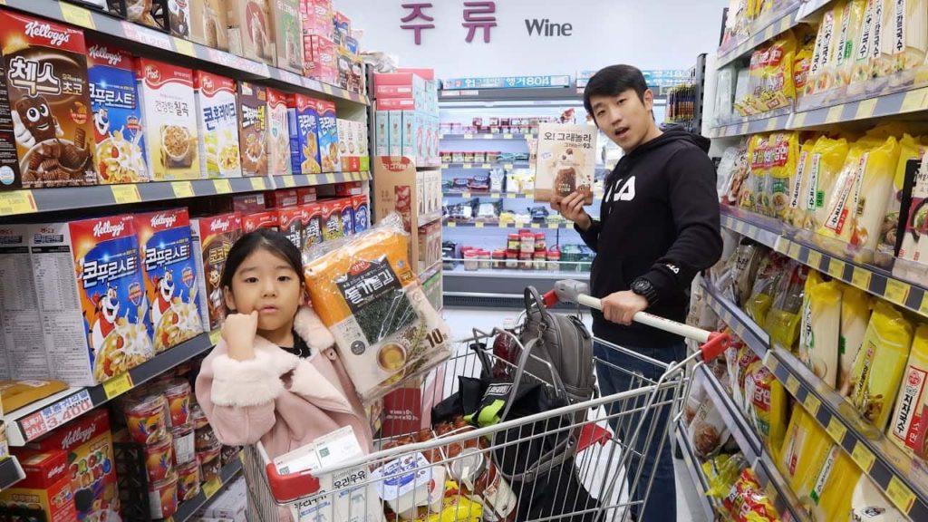 Продукты в Корее