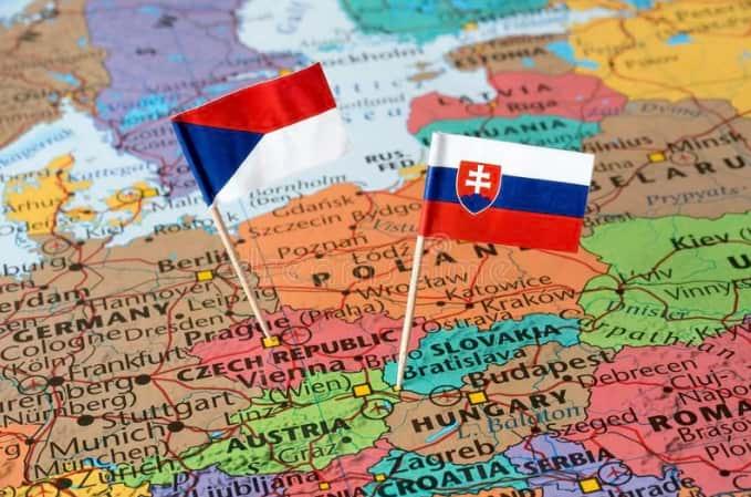 Чехия с Словакия