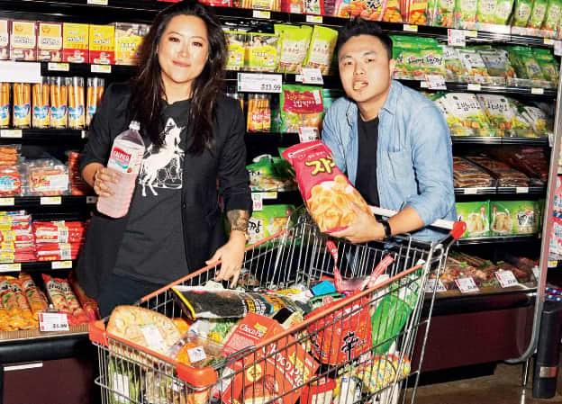 Корейские продукты