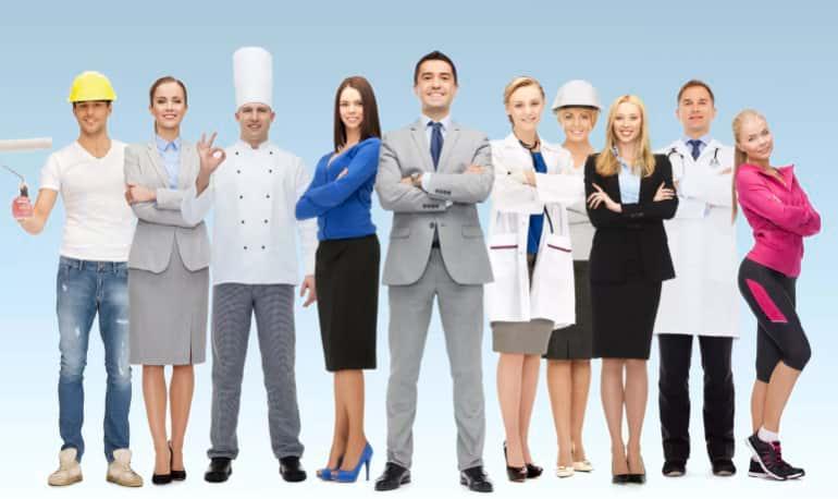 Люди разных профессий
