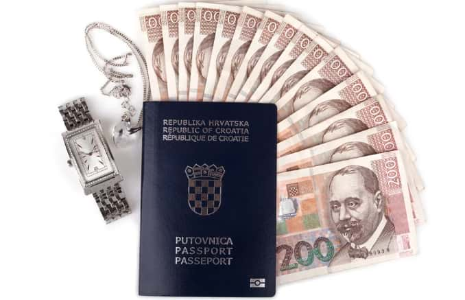 Паспорт Хорватии