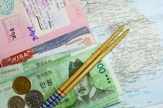 Стоимость визы в Корею