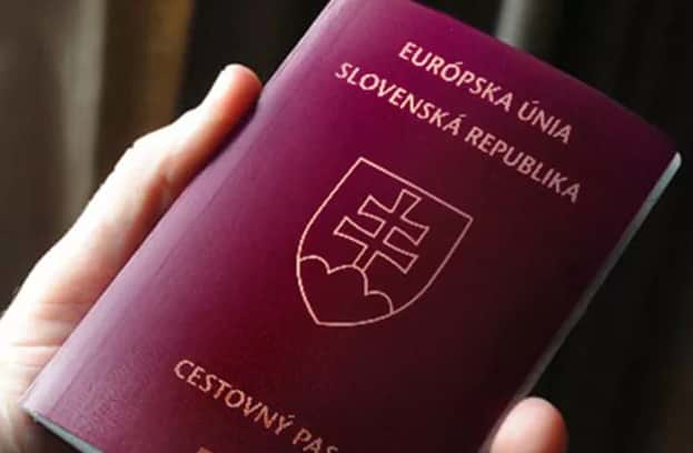 Словацкий паспорт