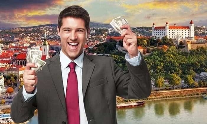 Зарплата в Словакии