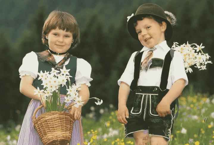 Австрийские дети